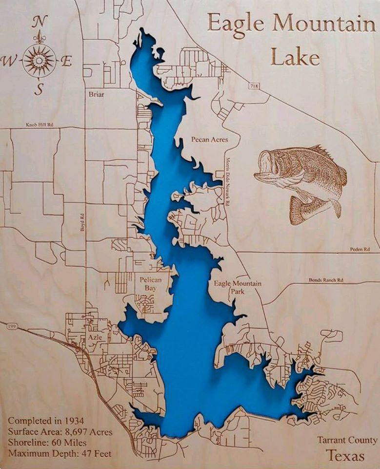 2 easy trails easy trails; Eagle Mountain Lake Texas