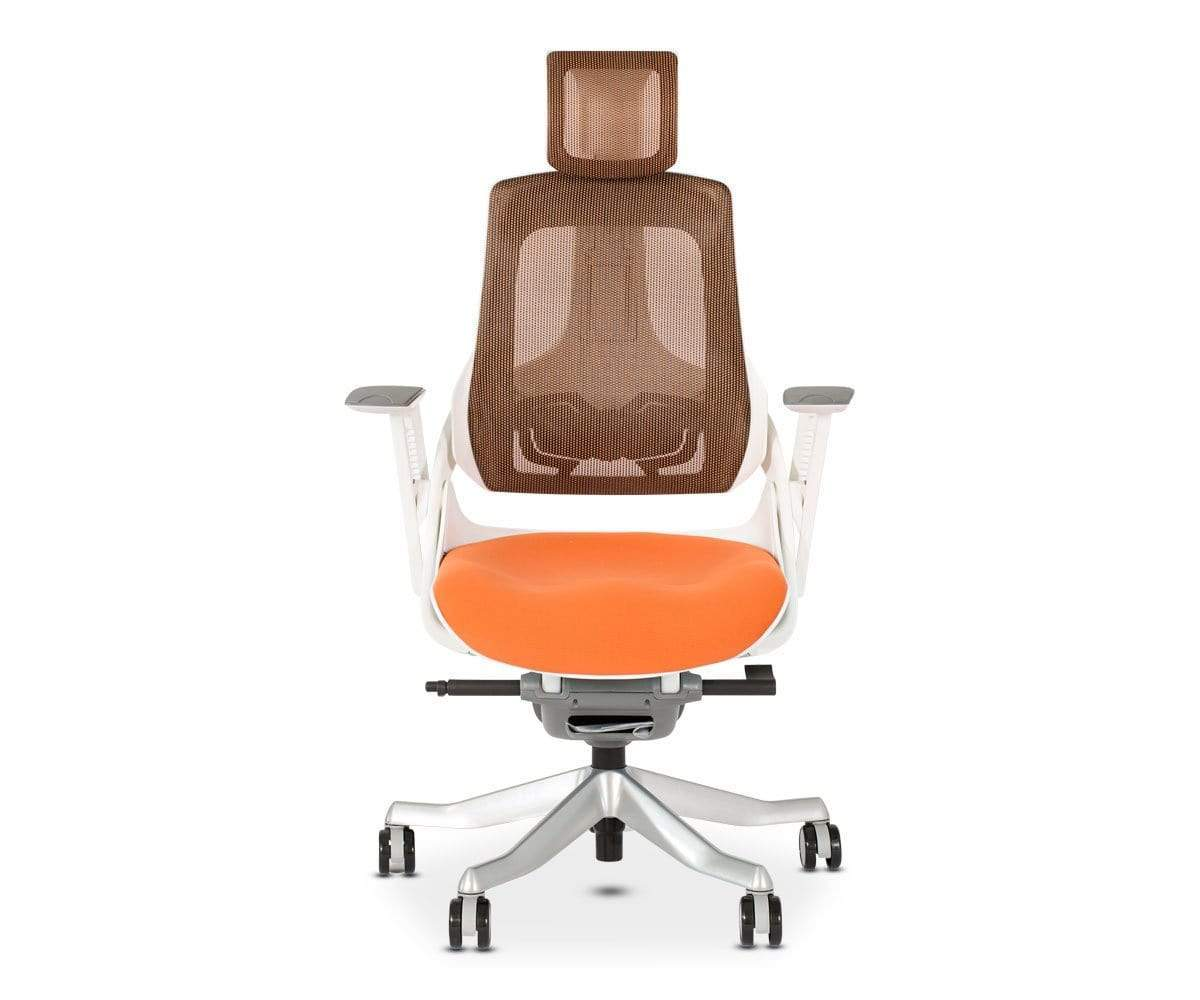 Orange Office Chairs Wau Desk Chair Orange