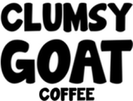 Image result for clumsy goat coffee logo