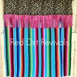 Turquoise Serape Shower Curtain Red Dirt Revivals