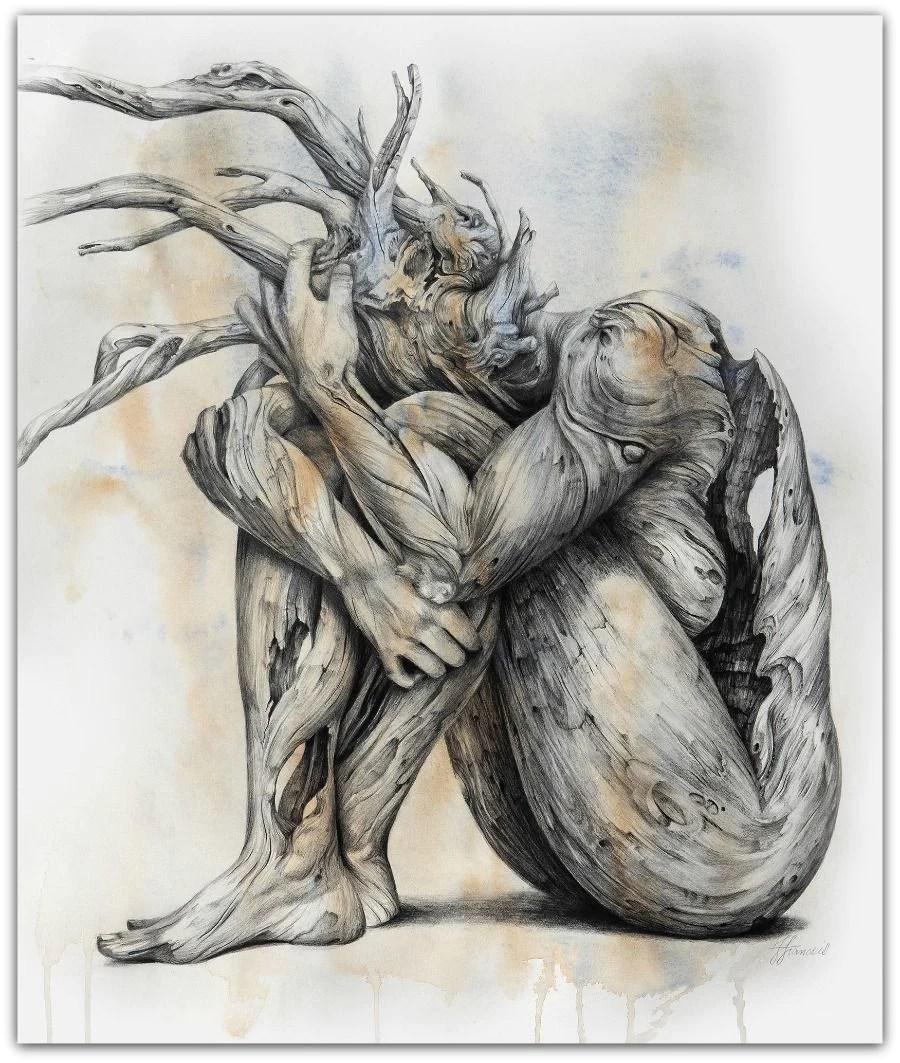 Fiona Francois Artwork 'skin Deep' Salamanca