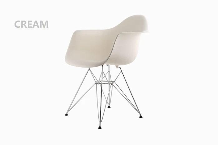 metal tub chairs acrylic desk chair with cushion eiffel cream bothy blue