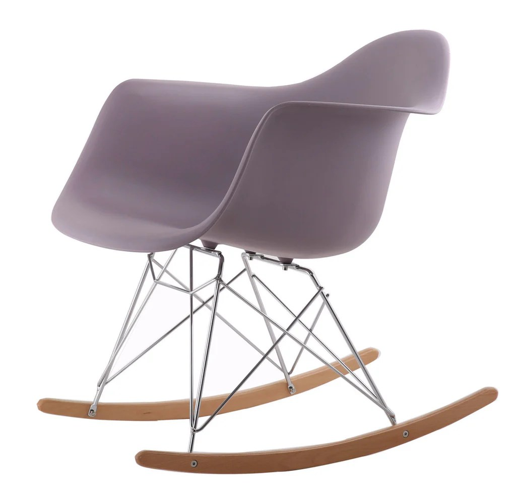 eames bucket chair parsons dining slipcovers rocking style tub mauve grey  bothy blue