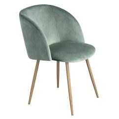 Velvet Chair Design Cartoon Beach Mid Century Mint  Bothy Blue