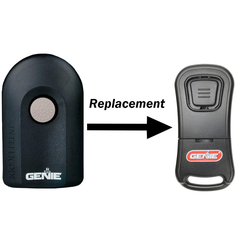 Acsctg Type 1 Replacement 1 Button Garage Door Opener Remote