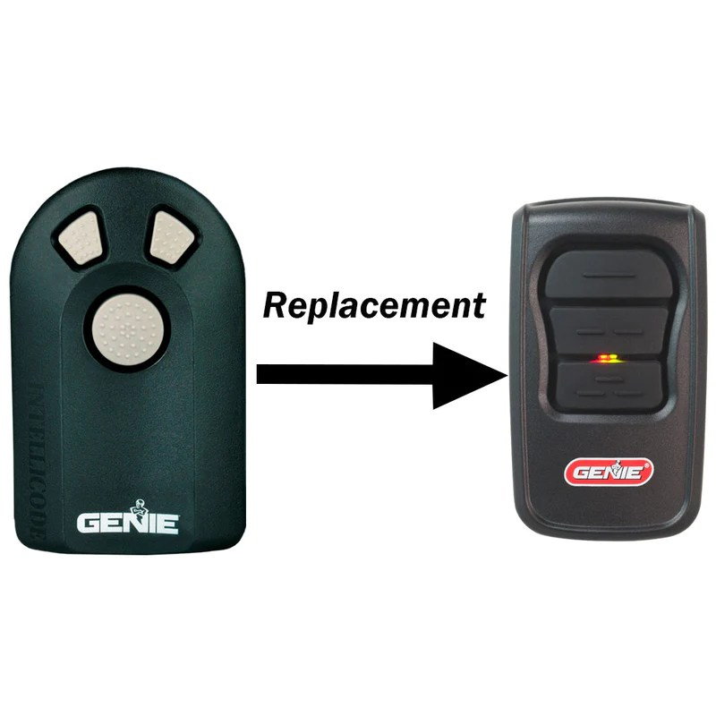 ACSCTG Type 3 Replacement 3 Button Remote By Genie The Genie Company