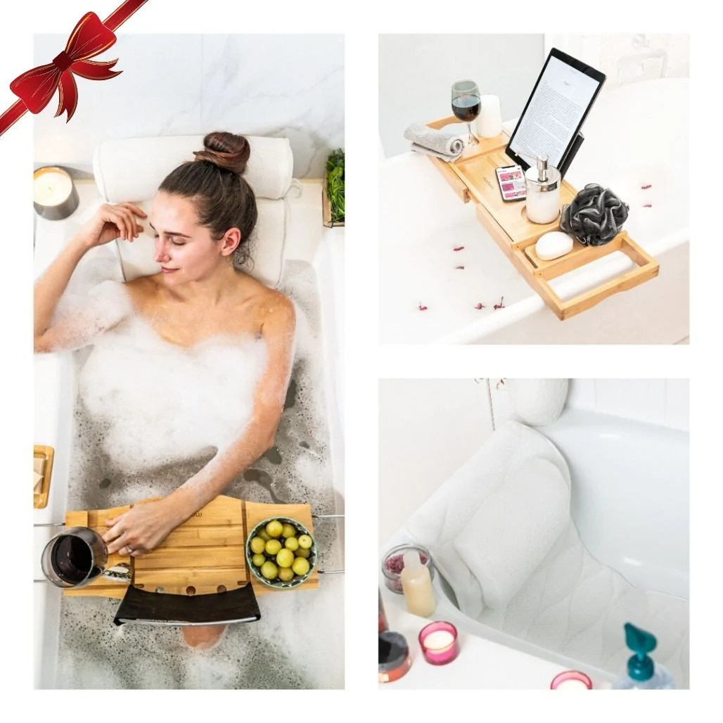 bath products pampering relaxing