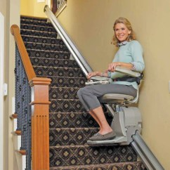 Bruno Lift Chair Rocking Stainless Steel Stairlift Elan Sre 3000 Footit Medical Cpap Refurbished Straight Rail With 1 Year Warranty