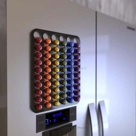 magnetic nespresso original line coffee pod holder