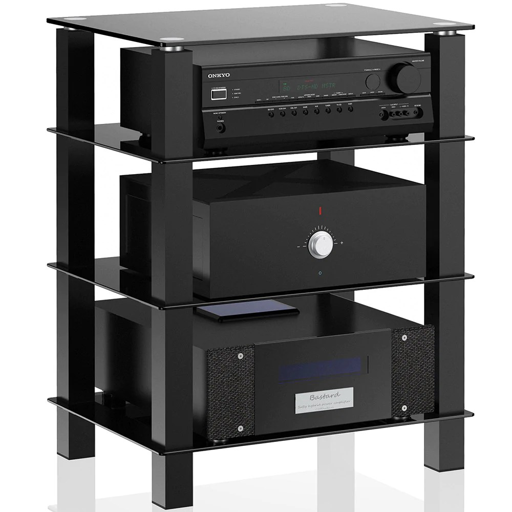 Audio Component Cabinet Stand