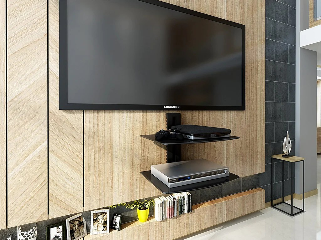 TV Console Cabinet Wall Mount Media Console Entertainment