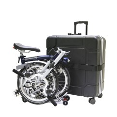 Power Chair Accessories Bags Bar Stool B Andw Travel Hard Case For Brompton Bike Ohmybike Pte Ltd