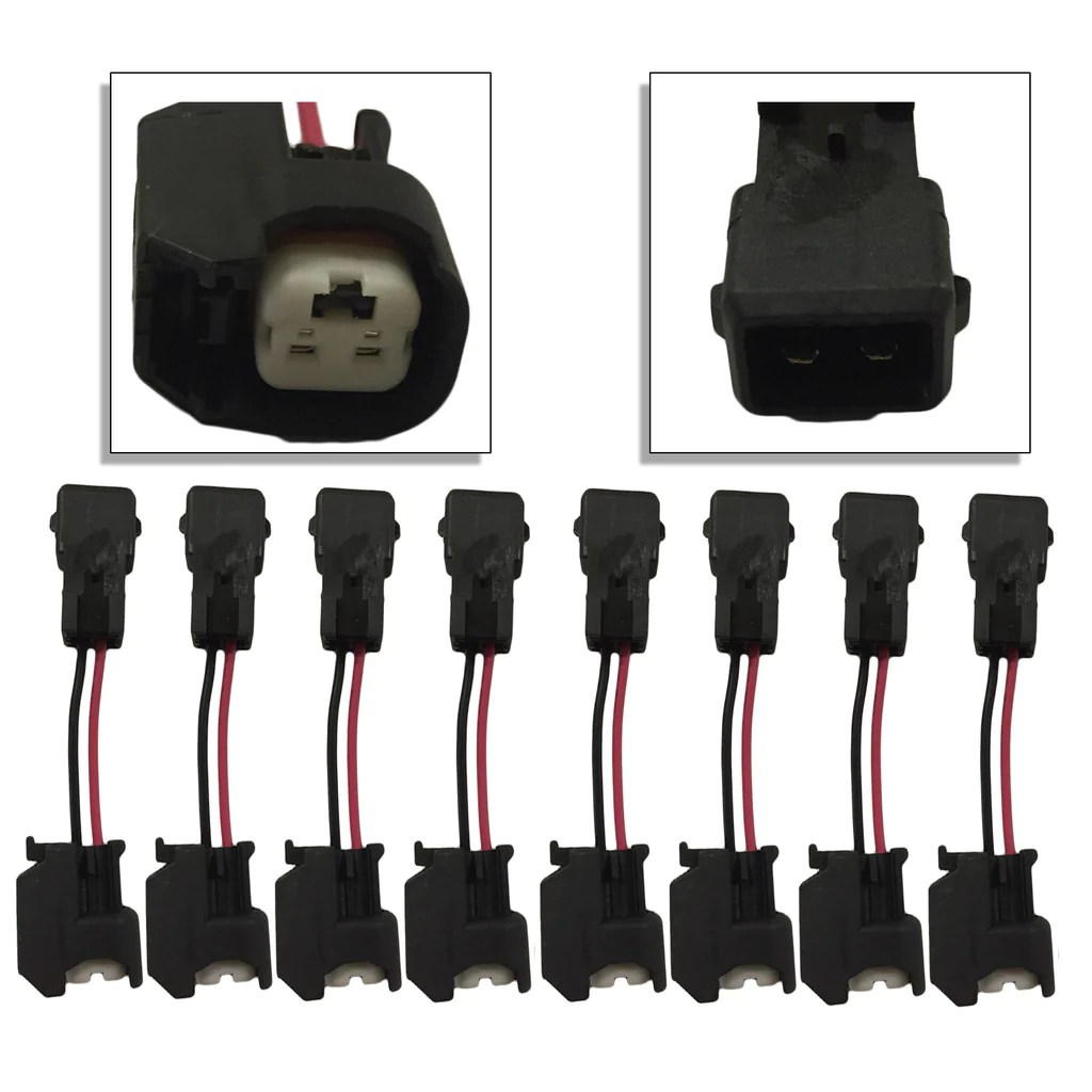 medium resolution of xtras set of 8 ls1 ls6 lt1 ev1 engine wire harness to ls2 ls3 ls7 lsa high performance injectors