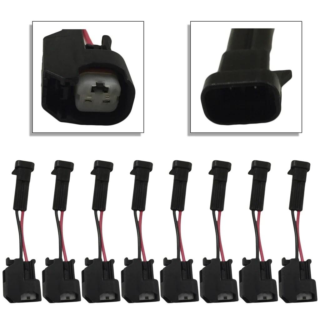 xtras set of 8 lq4 lq9 4 8 5 3 6 0 delphi wire harness to ls2 ls3 ls7 high performance injectors [ 1024 x 1024 Pixel ]