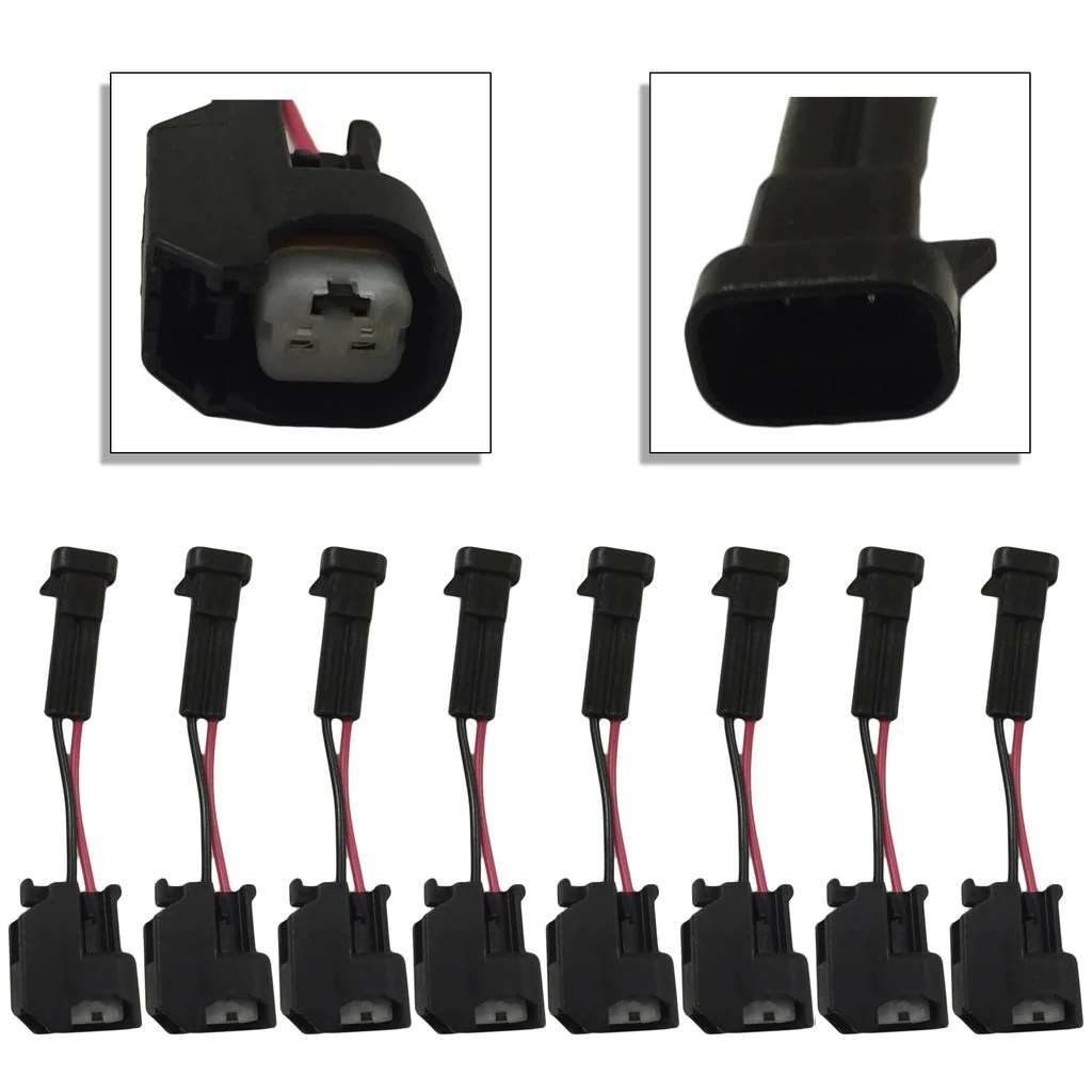 medium resolution of xtras set of 8 lq4 lq9 4 8 5 3 6 0 delphi wire harness to ls2 ls3 ls7 high performance injectors