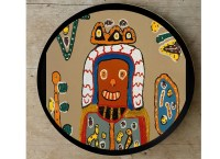 Buy African Tribal Art Hand-painted Wall Plate at Lowest ...