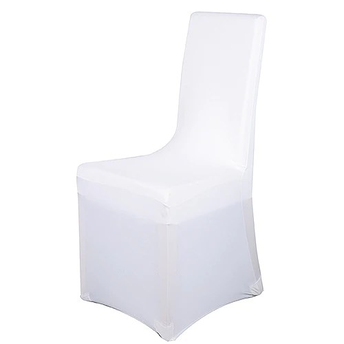 spandex chair covers cheap round counter height table and chairs wedding wholesale folding banquet stretch cover white