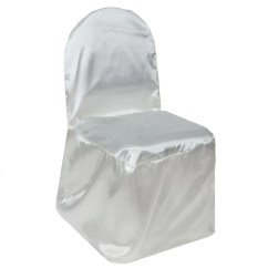 Black Glitter Chair Covers Rent Edmonton Wedding Wholesale Folding Banquet Spandex Stretch Ivory Satin Cover