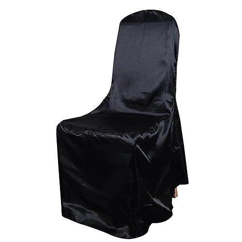 cheap black chair covers for sale arm chairs wholesale wedding buy back satin banquet cover