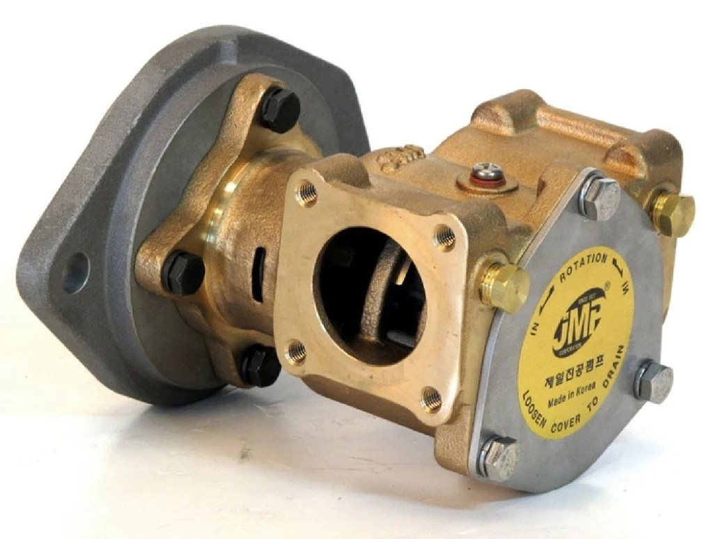 hight resolution of caterpillar c7 c9 3116 3126 seawater pump replacement jmp s7632
