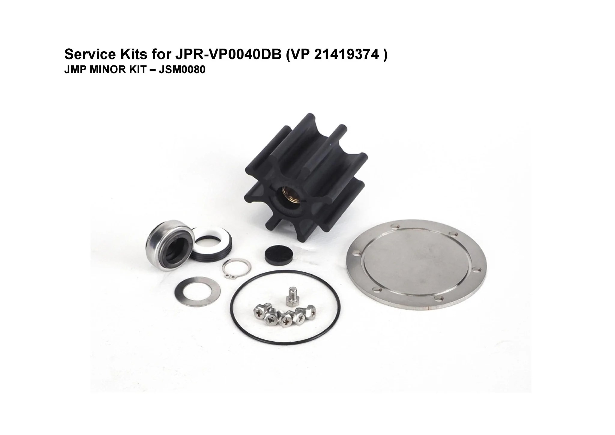 small resolution of minor service kit for volvo penta d4 engine seawater pump 21419374 fits volvo penta engines d4 225a e d4 260a e d4 260d e d4 300a e d4 300d e