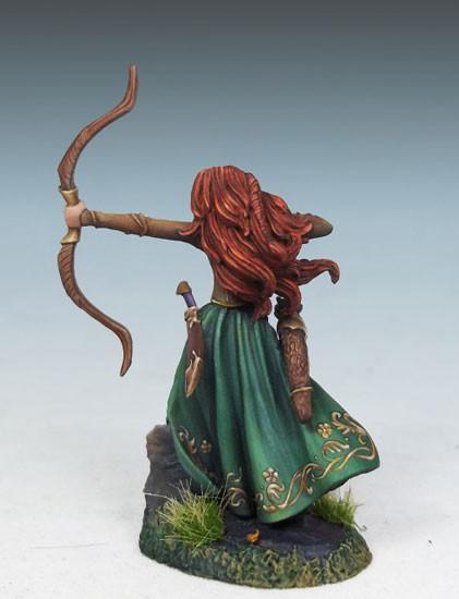 Dark Sword Miniatures Dsm7450 Female Elf Ranger With Bow