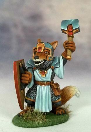 Dark Sword Miniatures Dsm8021 Kitsune Fox Cleric With