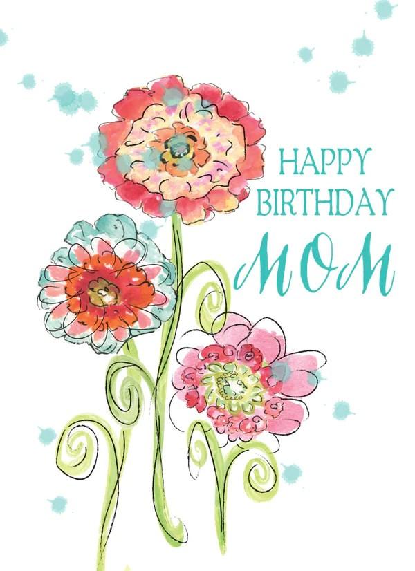 Sympathy Wallpaper Quotes Happy Birthday Mom Greeting Card