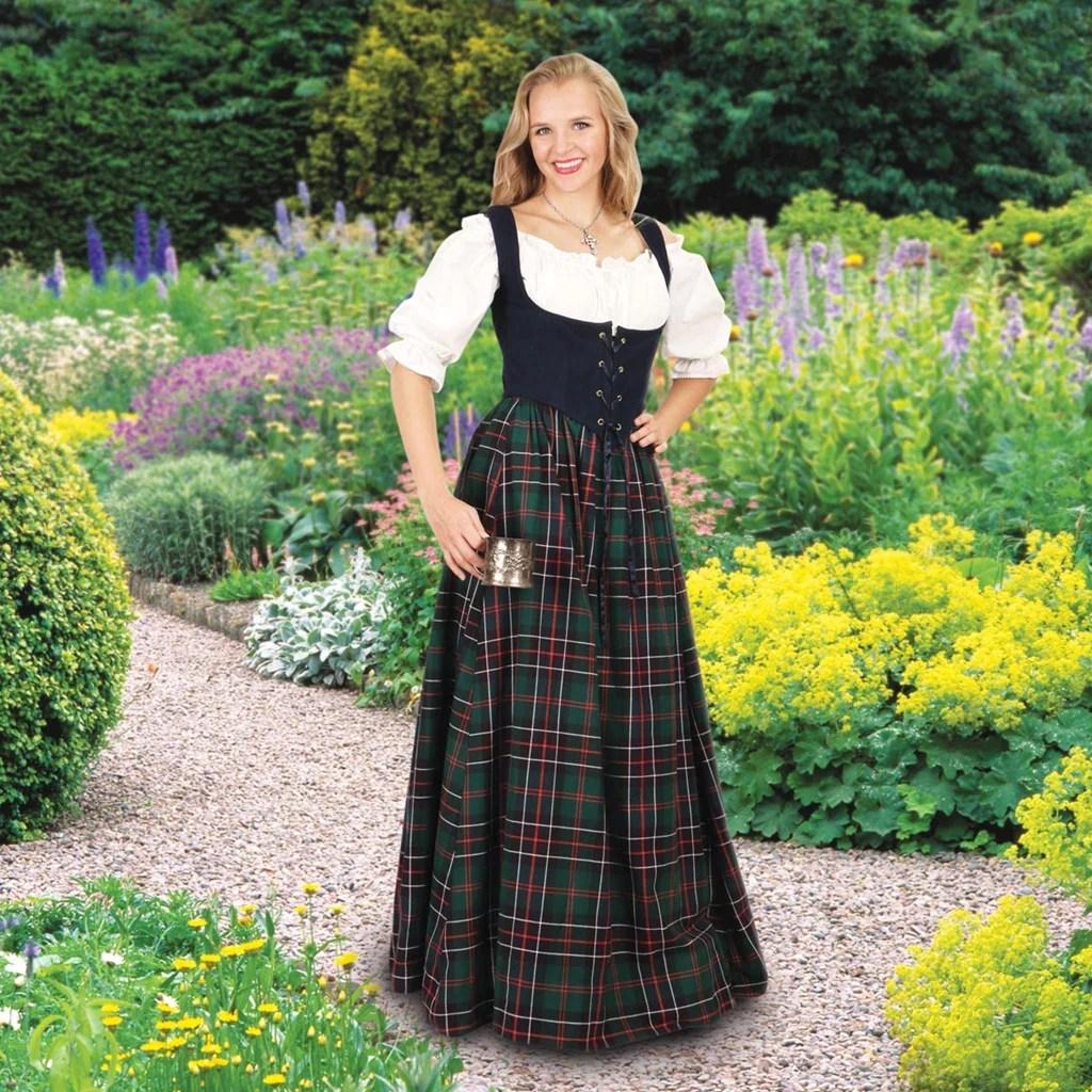 Scottish Plaid Skirt Costumes - And