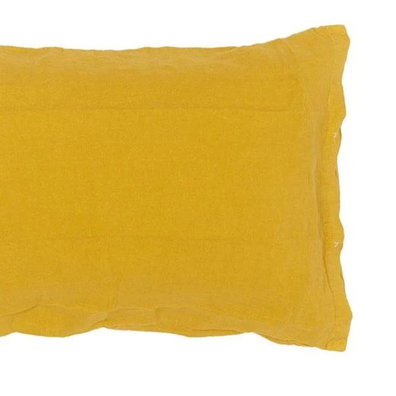 100 linen pillow case with buttons 2 sizes 22 colours