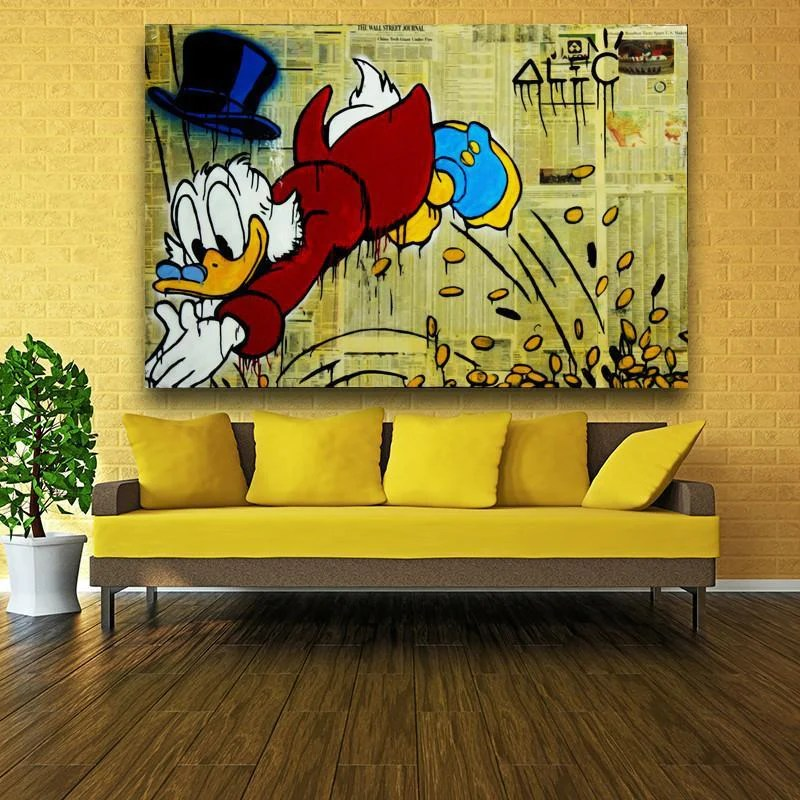 Alec Monopoly Prints SALE CRAZY Low Prices POP ART Canvas Prints