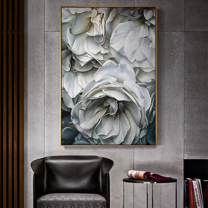 white roses black and