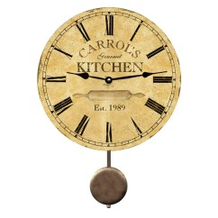 Kitchen Clocks Aid Washer Personalized Clock Cooking Wall Time Flies
