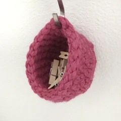 Short Miniature Hanging Basket