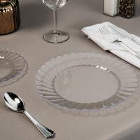Round Plastic Plate