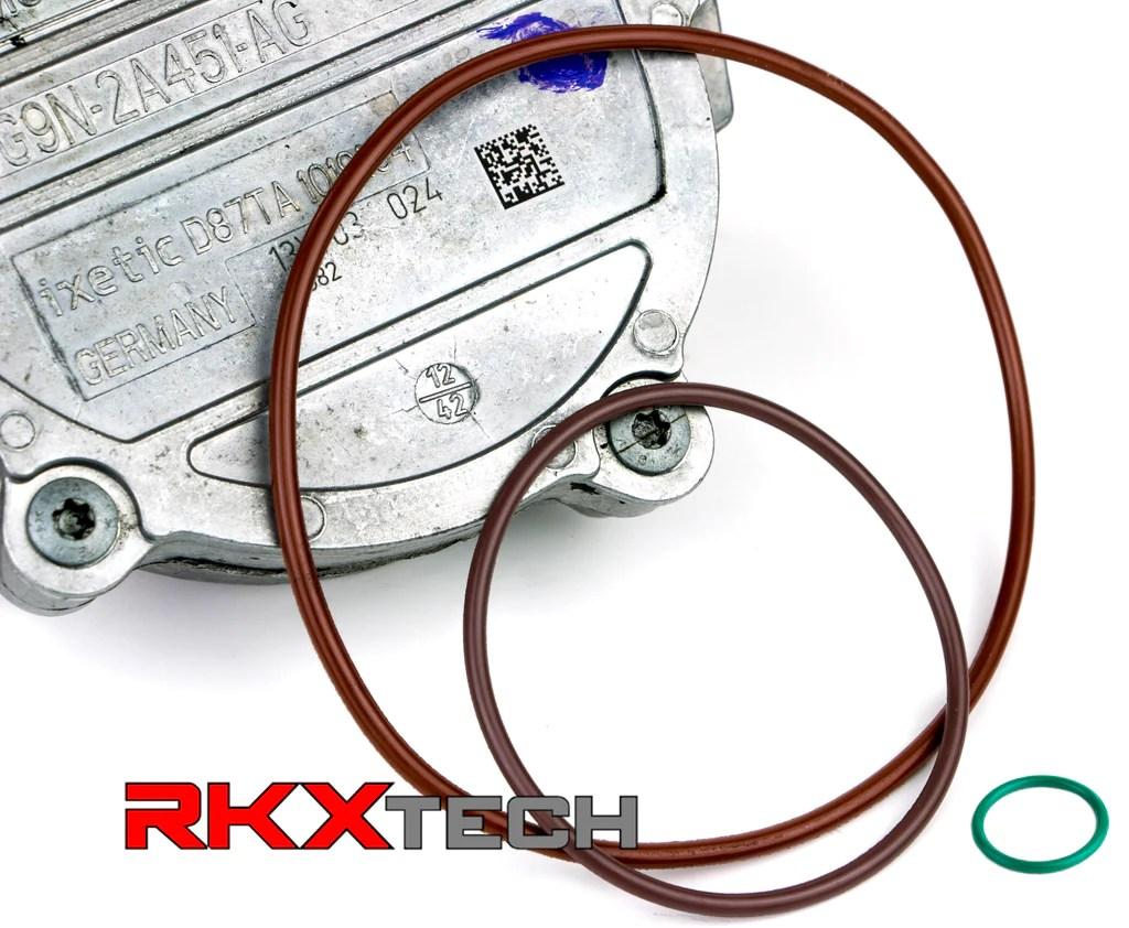 medium resolution of rkx volvo land rover 3 0l 3 2l t6 vacuum pump reseal rebuild kit lr2 xc rkxtech