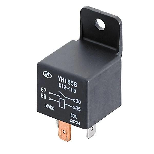 12vdc 30 40a relay wiring diagram 3 phase motor dol starter spst automotive switch  radioshack