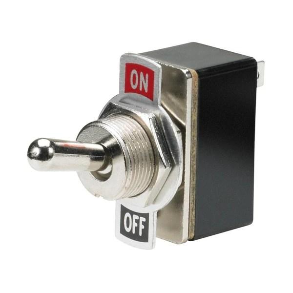 Miniature Toggle Switch Spst Onoff