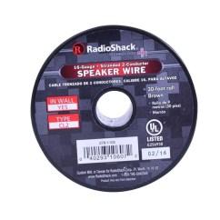 Amplifier Wiring Kit Radio Shack 480 Volt To 240 120 Transformer Diagram 30 Foot 16awg Speaker Wire  Radioshack