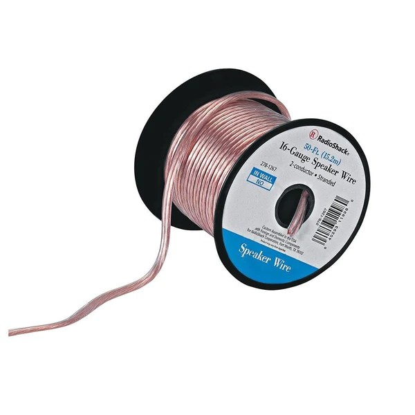 amplifier wiring kit radio shack how do you a stem and leaf diagram 16 gauge speaker wire  radioshack