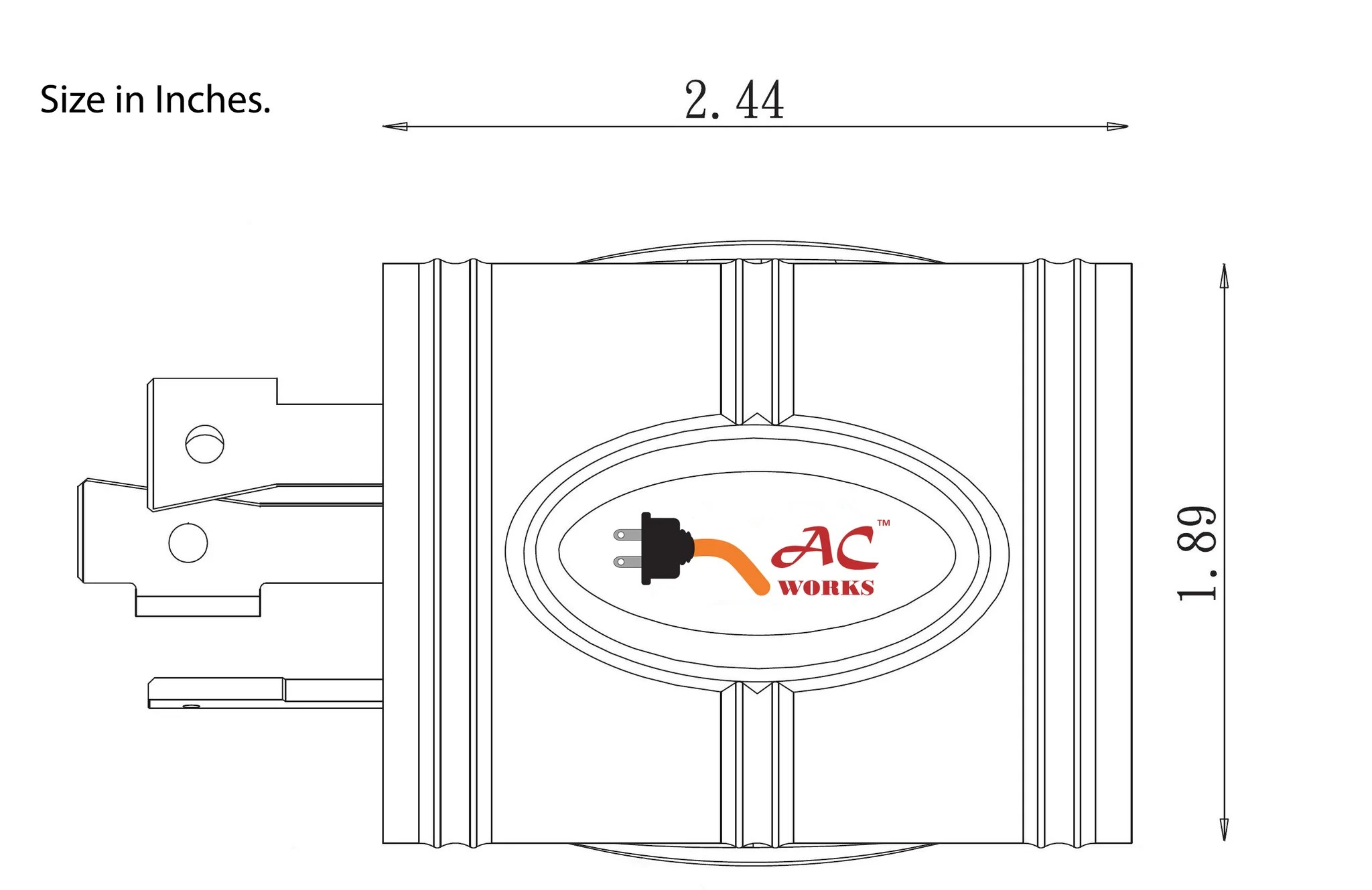 hight resolution of  ac connectors ac works adl530l520 3 prong locking plug nema l5