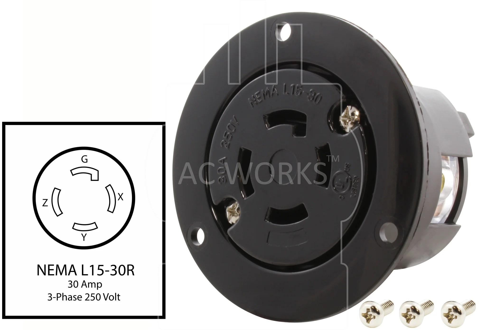 small resolution of  diy nema l15 30r diy l1530 outlet diy 30 amp locking outlet