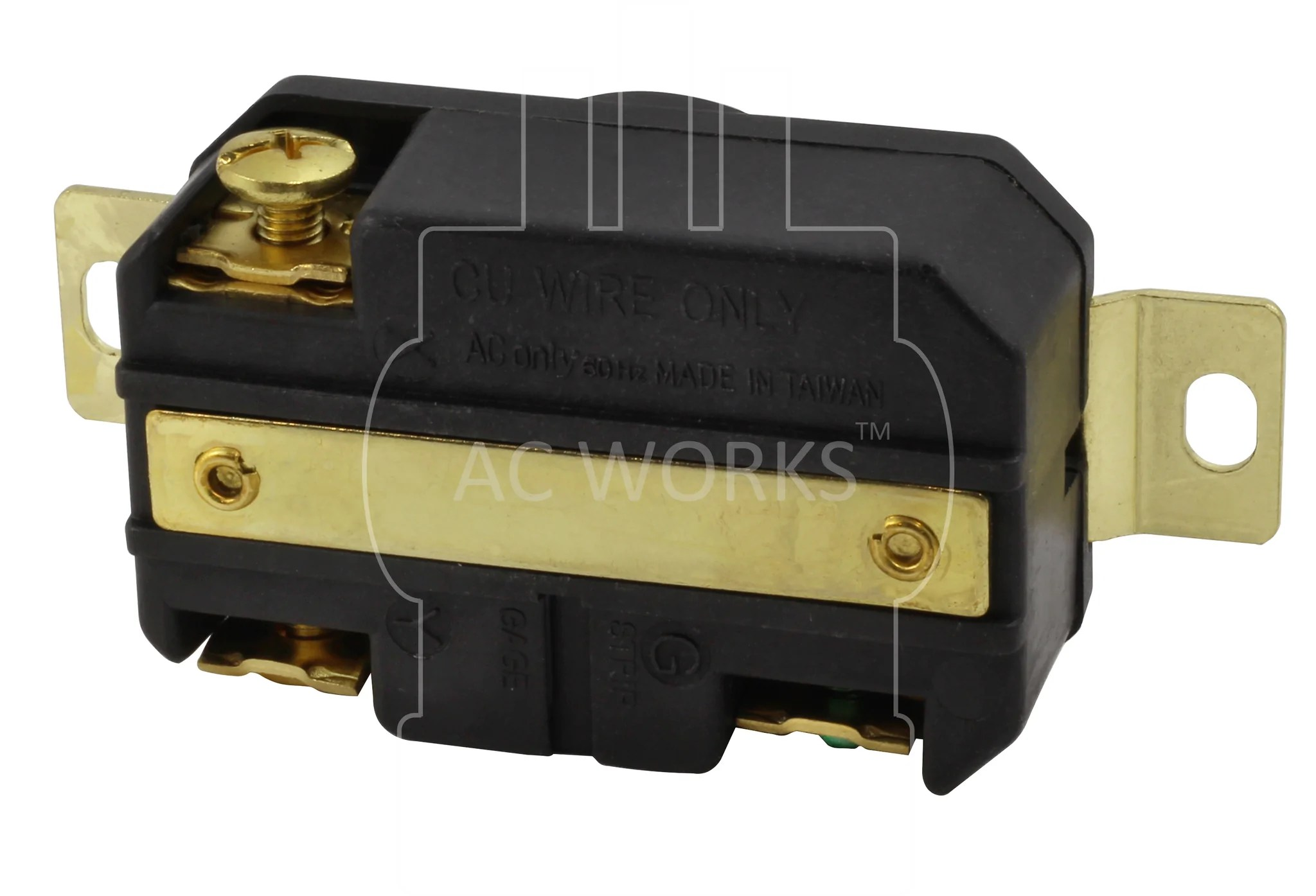 hight resolution of  fml620r ac works ac connectors flush mounting locking receptacle