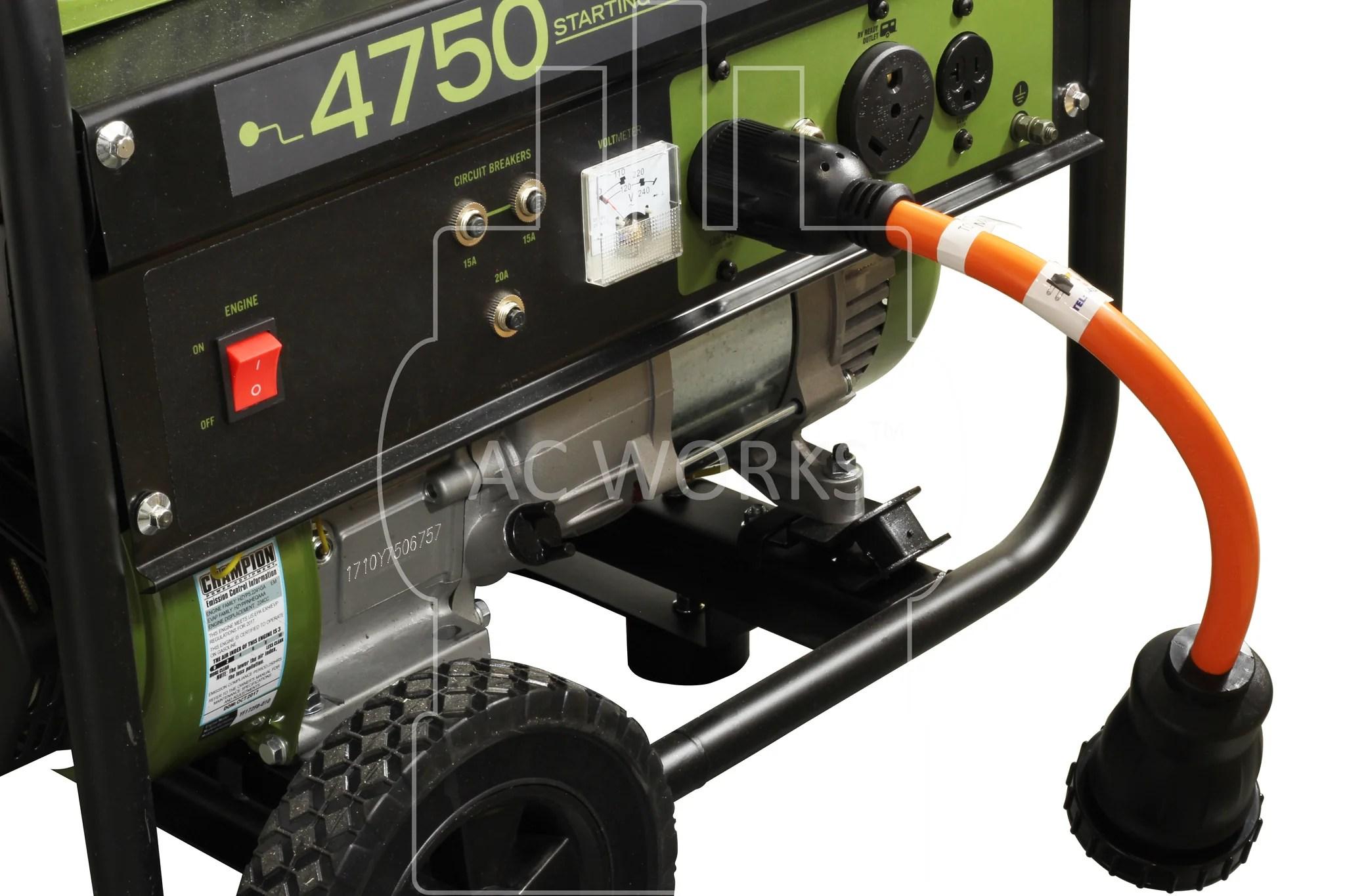 medium resolution of  rv generator adapter flexible rv adapter flexible generator adapter 50 amp rv adapter