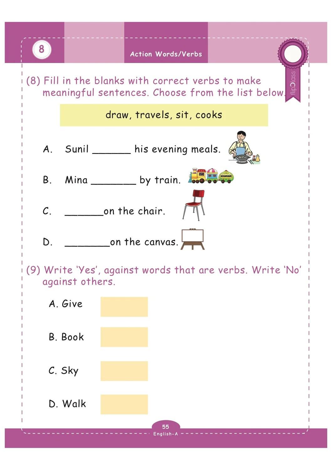 29 English Worksheet For Grade 1 - Worksheet Resource Plans [ 1499 x 1060 Pixel ]