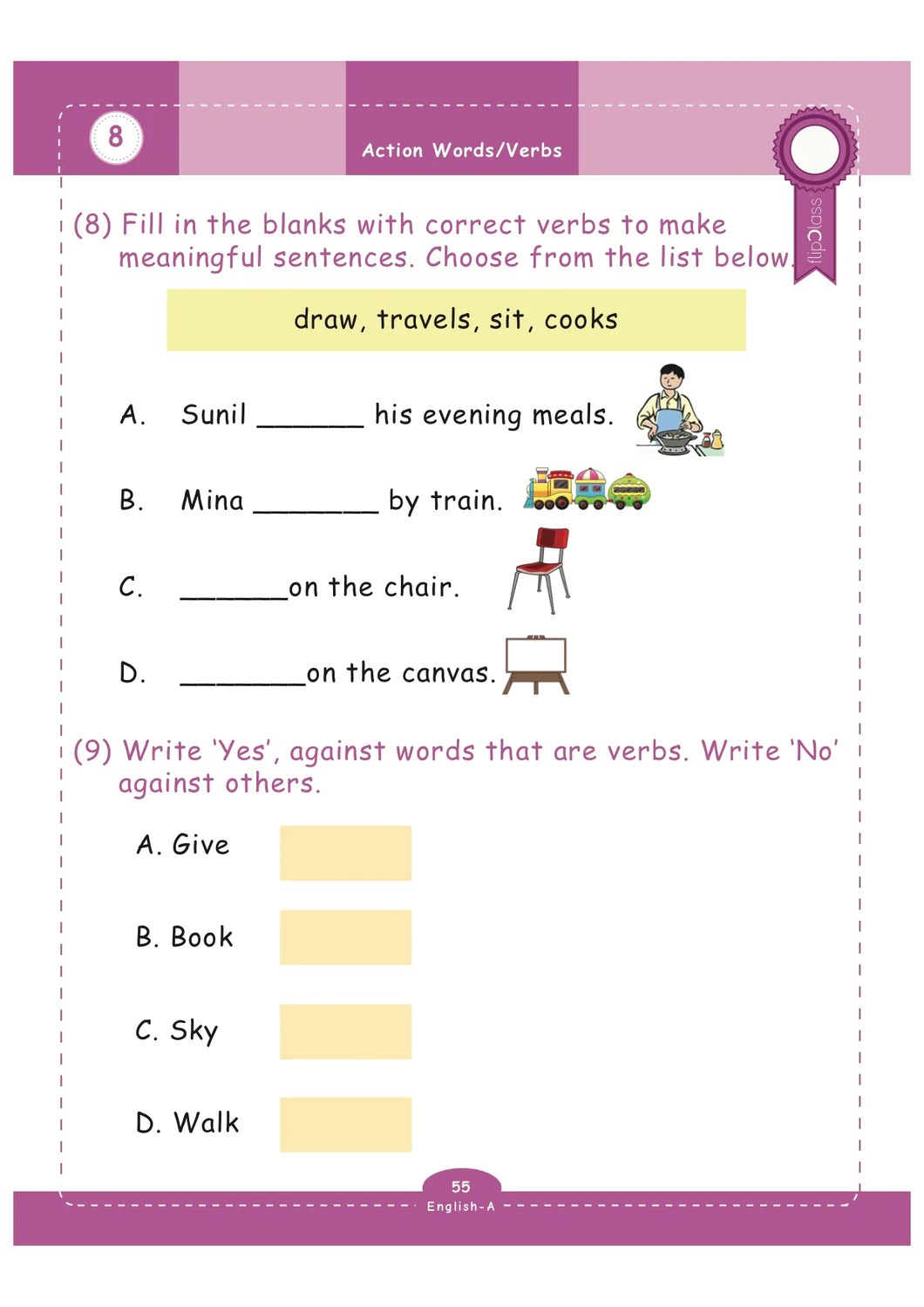 medium resolution of 29 English Worksheet For Grade 1 - Worksheet Resource Plans
