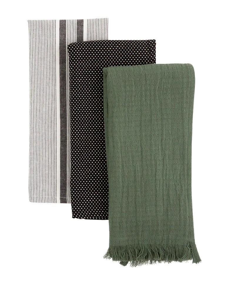 Forest Cotton Tea Towels (Set of 3)