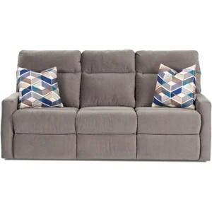 klaussner grand power reclining sofa garden set monticello by woodloft furniture