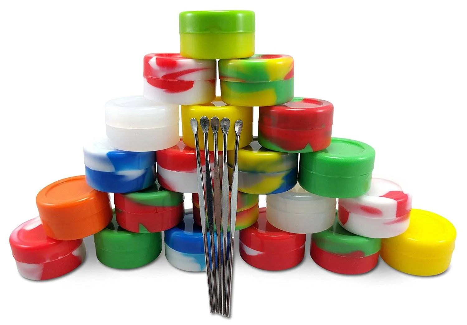 Silicone Wax Container