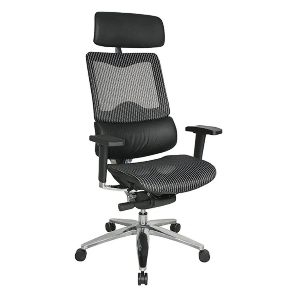 Workpro Commercial Mesh Back Executive Chair Learnspace Chairs Workspace Direct